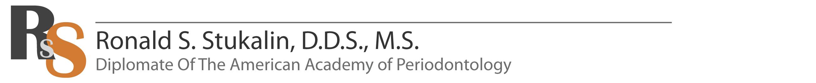 Ronald S. Stukalin Periodontist Retina Logo